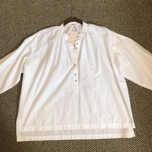 NWT Free People Painters Shirt oversized